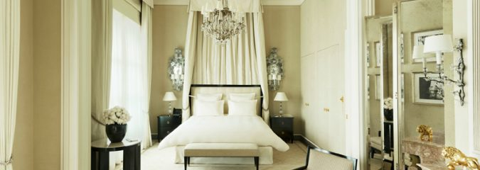 The Coco Chanel Suite at the Ritz Paris