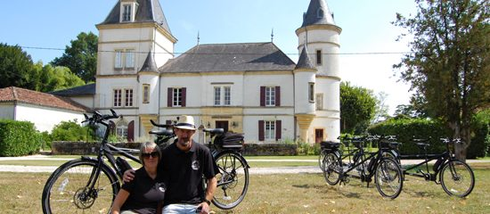 Fully catered luxury tandem bike holidays in France