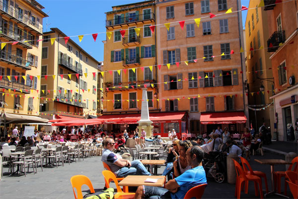 The gastronomy of Nice southern France