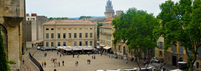 Avignon, a major historic city of the south of France
