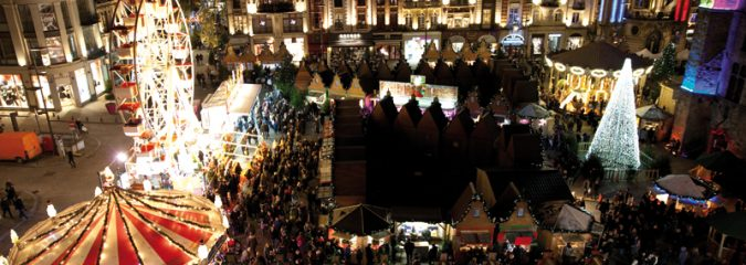 Bethune Christmas market northern France