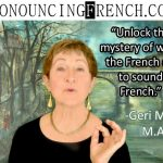 Mastering the dreaded French R sound