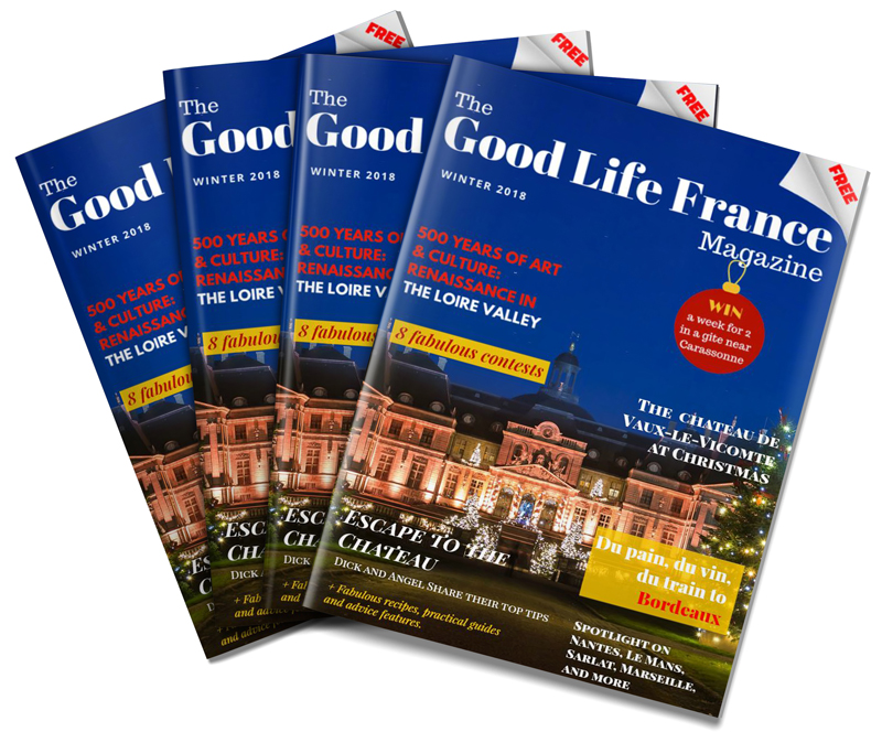 The Good Life France Magazine, jam packed and bursting with fabulousness