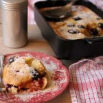 Recipe for Apple and Blackberry Clafoutis