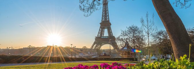 Picture Perfect Paris in the spring