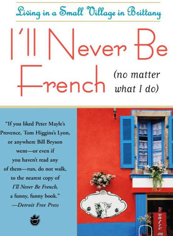 Book cover for I'll Never be French by Mark Greenside
