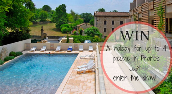 Win a fantastic holiday in France for up to 4 people