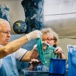Bleu de Pastel Dye Workshop in Toulouse