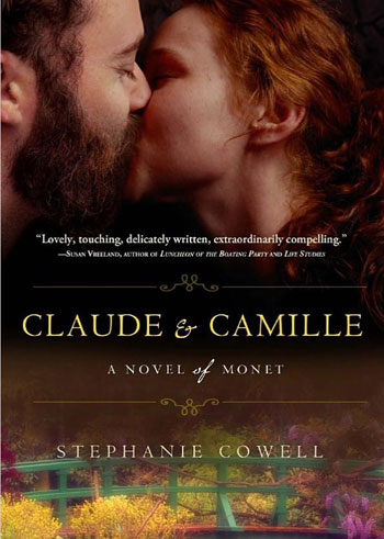 Front cover of a book called Claude & Camille about the artist Monet and his wife