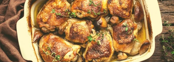 Recipe for Poulet Gaston Gerard