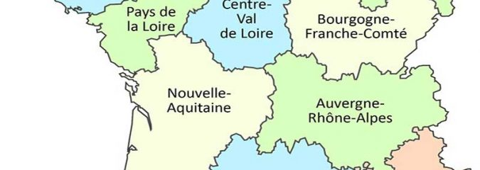 France at a glance | The regions of France