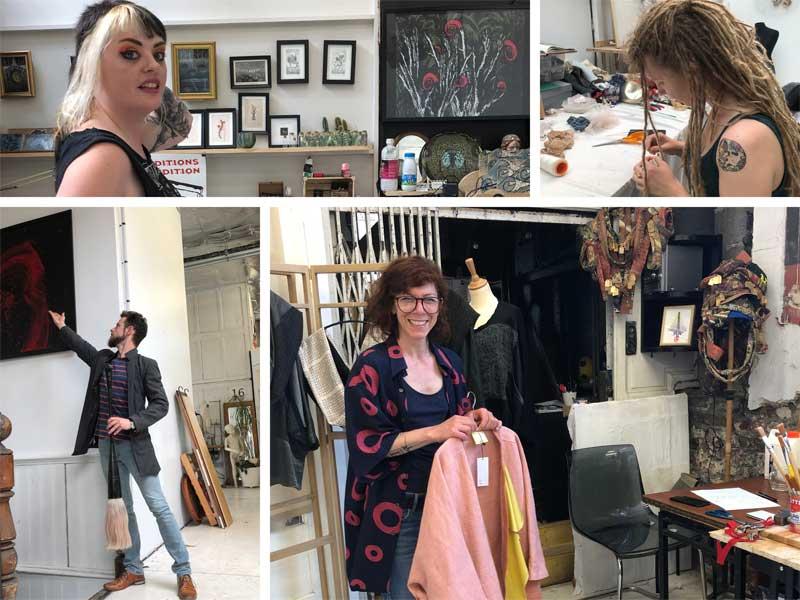 Artists at Ateliers Jouret