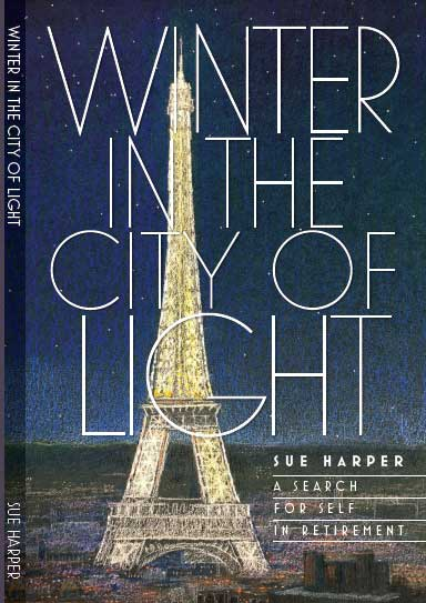 Jacket cover of book Winter in the City of Light by Sue Harper
