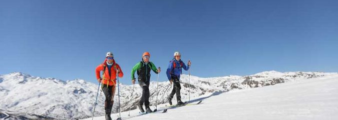 Spring ski holidays in the French Mountains