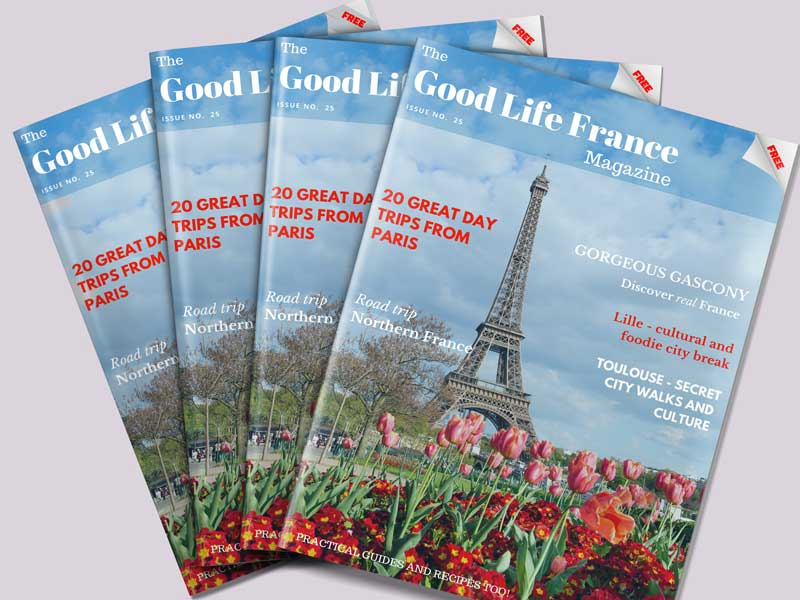 Front cover of The Good Life France Magazine