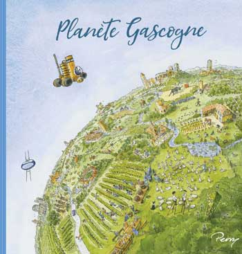 Book jacket of Planete Gascogne by Perry Taylor