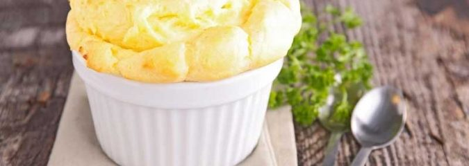 Recipe for French Cheese Soufflé