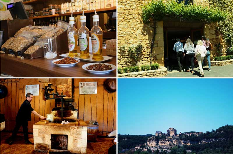 Artisan products in Dordogne, wine, liqueurs and and cold meats