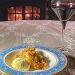 Recipe for apple, pear and speculoos crumble