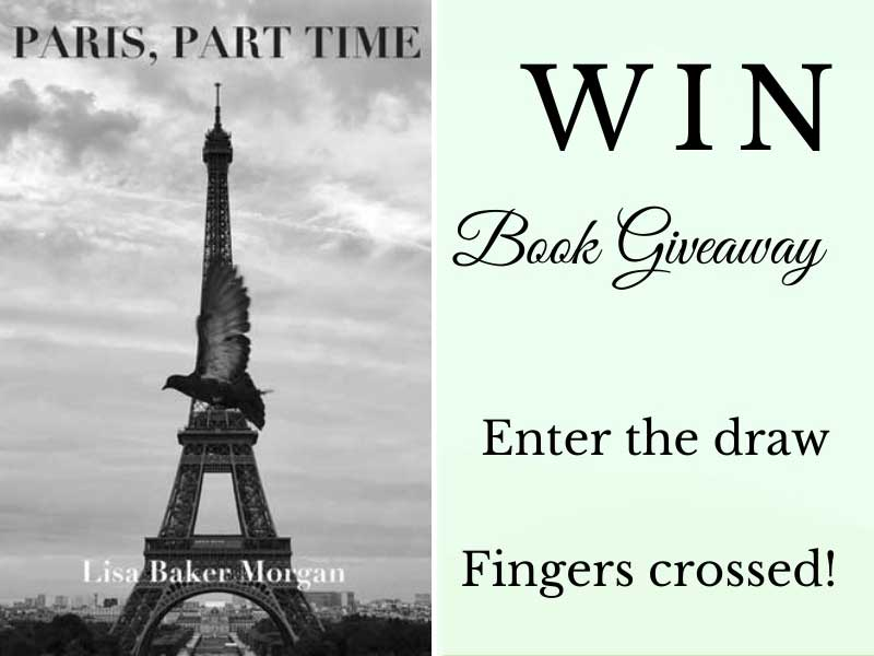 Book cover Paris, Part Time by Lisa Baker Morgan
