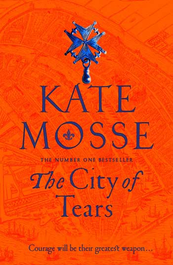 Book cover for The City of Tears by Kate Mosse