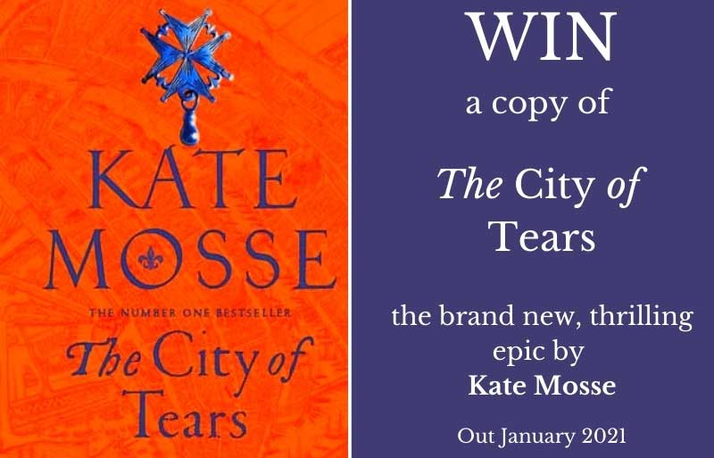 Book cover of The City of Tears by Kate Mosse