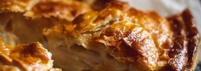Recipe for sweet Pithiviers