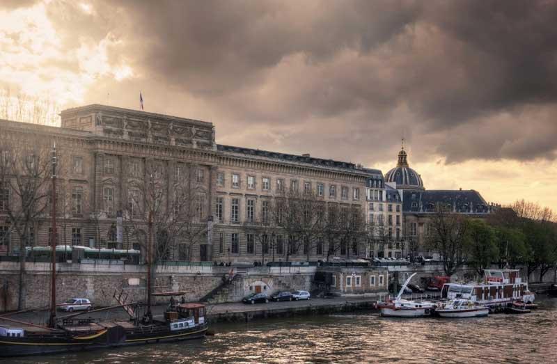Monnaie de Paris, a grand building and museum of the history of money in Paris